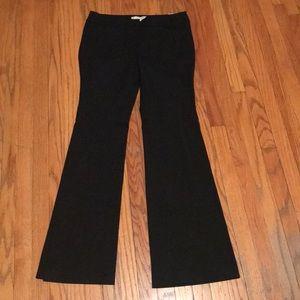 LOFT Marisa Modern Black Trousers- NWT Size 6